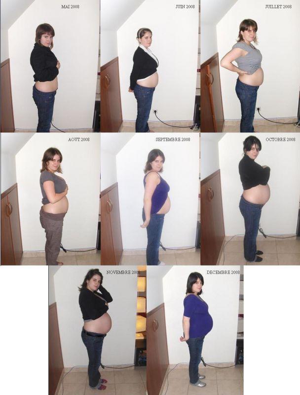 Préférence Le ventre de maman pendant 9 mois - Roxane et Gilles  TY45