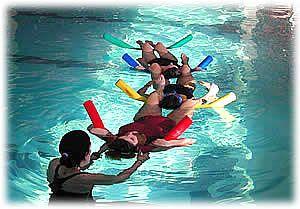 Aquagym pr natal avec la sage femme caro et seb for Accouchement en piscine