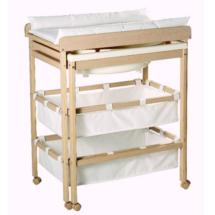 La table langer avec baignoire sandrine et richard - Table a langer d angle pas cher ...