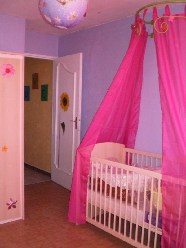 ca yest la chambre de la puce est prte trop jolie on adore - Chambre Rose Et Violet