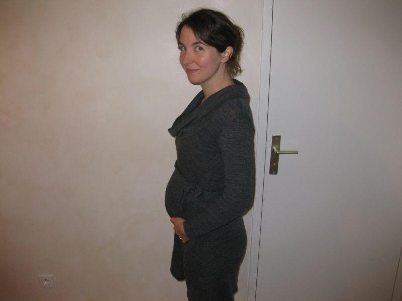 enceinte ventre dur 4 mois