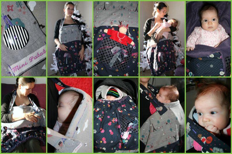 tablier d 39 allaitement mini patate lilie et ses petites. Black Bedroom Furniture Sets. Home Design Ideas