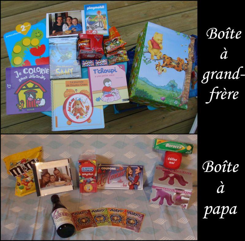 Boite a papa et au grand frere st phanie vincent ewen et - Idee cadeau beau frere ...