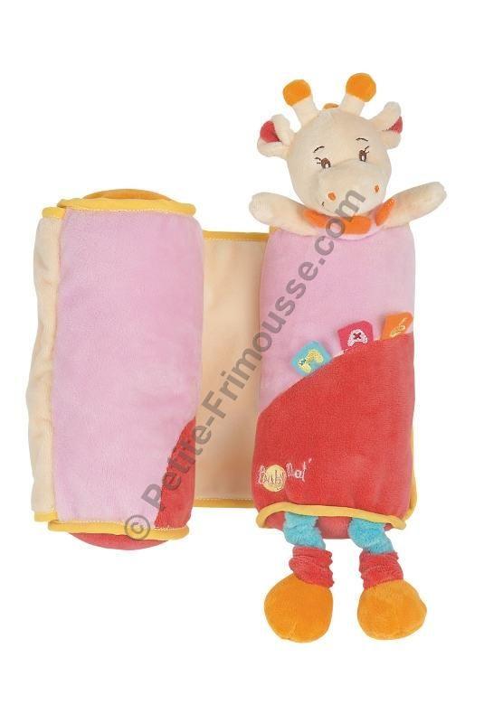 cale b b ma la girafe rose de babynat chez l o et lilie on vide les armoires accouchement. Black Bedroom Furniture Sets. Home Design Ideas