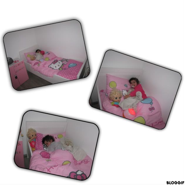 mon nouveau lit papa maman et louise petite marquise naissance le 4 juillet 2010. Black Bedroom Furniture Sets. Home Design Ideas