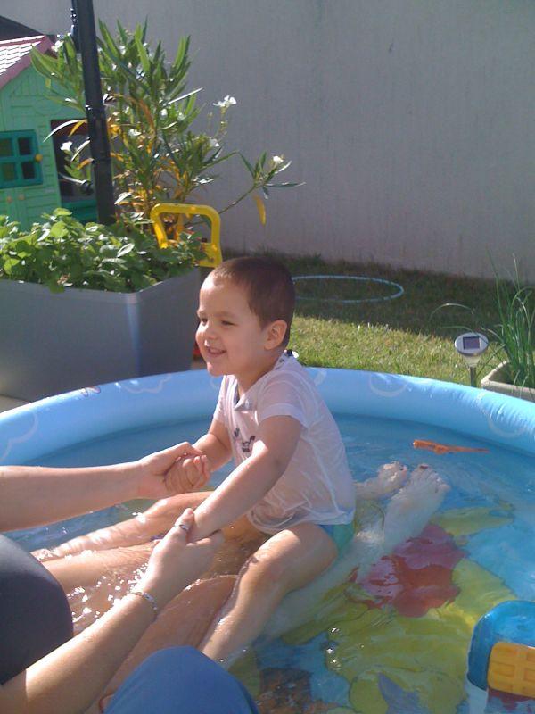 Blog grossesse jade damien timoth et m lyne for Accoucher dans une piscine