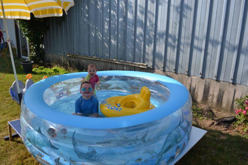 C 39 est chouette la piscine st phanie vincent ewen et for Accouchement en piscine