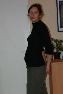 bidou a 13 semaines de grossesse 15sa aur 233 lie et florent accouchement pr 233 vu le 2 avril 2011