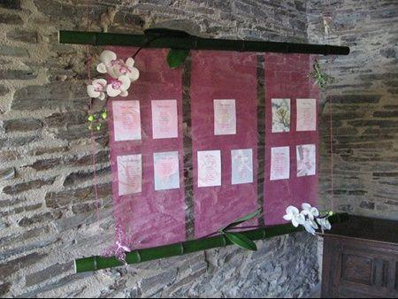 Tableau d 39 entr e avec plan de table st phanie et alexandre mariage le 21 ao t 2010 - Tableau plan de table mariage ...