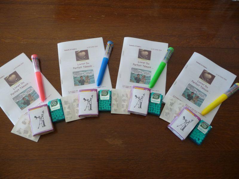 les kits pour nos t moins isabelle et fr d ric mariage le 10 juillet 2010. Black Bedroom Furniture Sets. Home Design Ideas