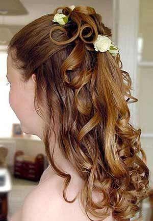voila un peu le genre de coiffure que je voudrais avoir les cheveux long un peu relev - Coiffure Pour Temoin De Mariage