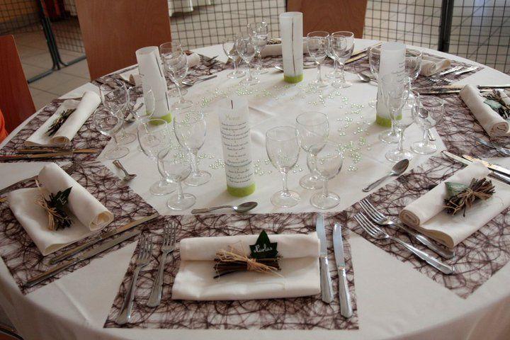 Déco de table, détails - Marie et Geoffrey - Mariage le 3 juillet ...