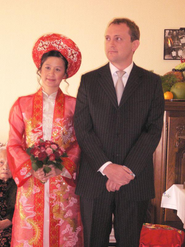 Le Mariage Vietnamien Et Bouddhiste Khanh Et Hervé