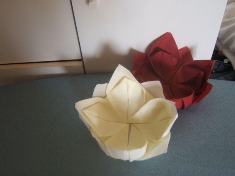 Pliage Des Serviettes En Lotus Jérome Et Suzana Mariage Le 27