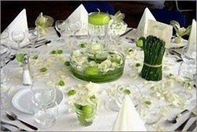 1000 images about mariage on pinterest - Deco table blanc ...