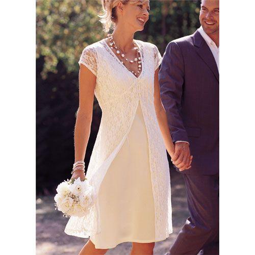 Robe pour mariage civil chic