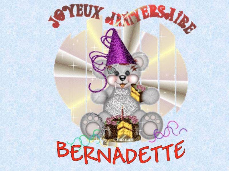 Joyeux Anniversaire Bernadette Caro Et Fred Mariage Le 1
