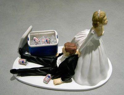 un exemple pour changer - Personnage Gateau Mariage Humoristique