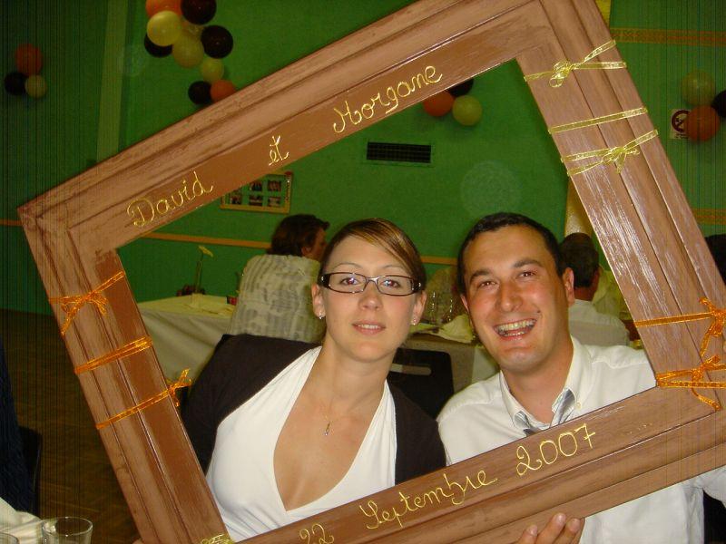 le jeu du cadre magali et j r me mariage le 23 ao t 2008. Black Bedroom Furniture Sets. Home Design Ideas