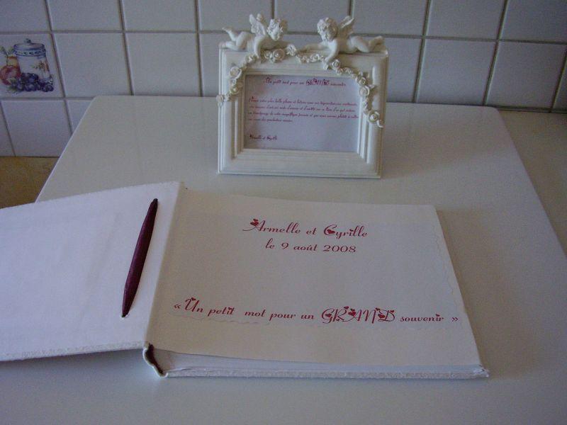 Texte Livre D Or Armelle Et Cyrille Mariage Le 9 Aout 2008