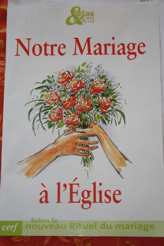 on a choisi nos textes prparer le livret glise manque plus qua les faire valider par le diacre - Preparation Au Mariage Eglise