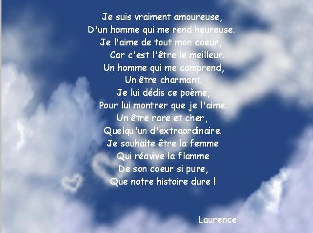Poème Laurence Et Christophe Mariage Le 18 Juillet 2009