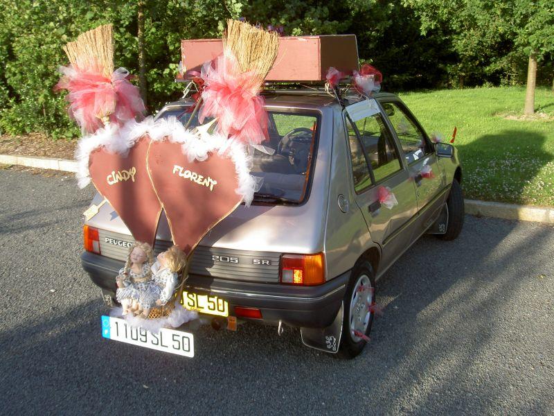 Voiture balai - Cindy et Florent - Mariage le 28 juin 2008
