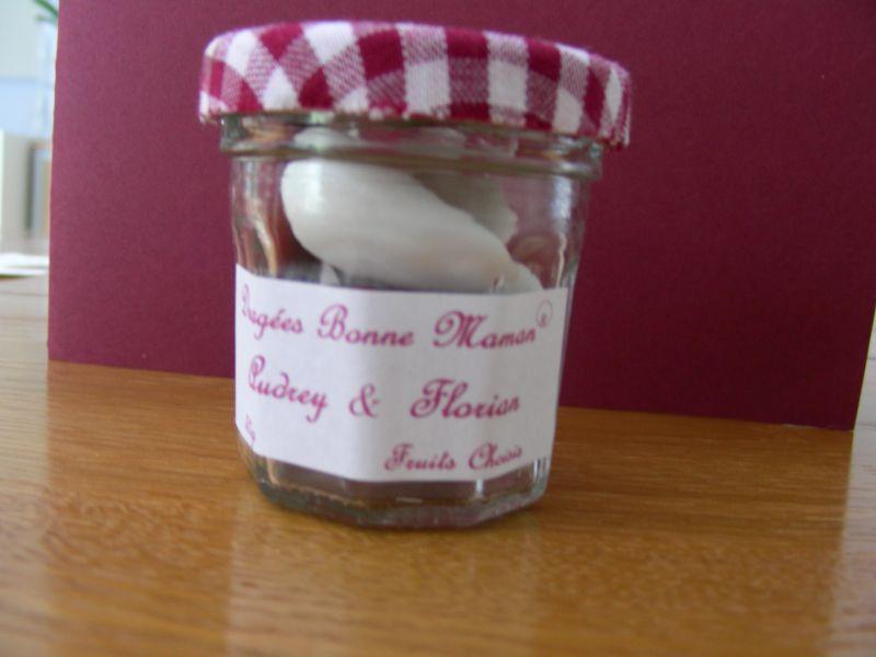 Blog mariage audrey et florian mariage le 19 juillet 2008 - Pots a confiture ...
