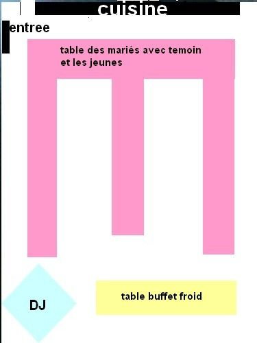 plan de table lolita et frederic mariage le 19 juin 2010. Black Bedroom Furniture Sets. Home Design Ideas