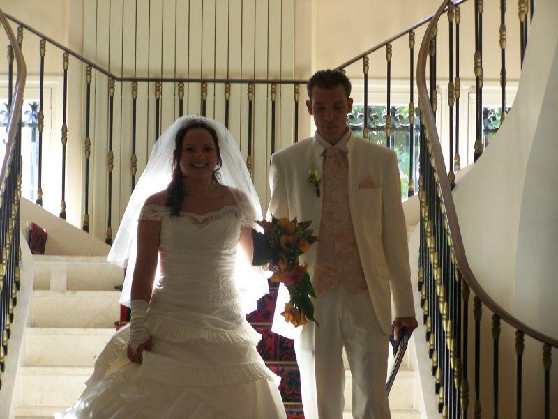 Sabrina et cyril mariage le 27 septembre 2008 - Message boulette mariage ...