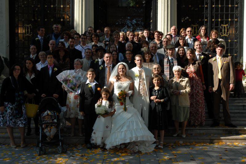 Mairie au grand complet sabrina et cyril mariage le 27 septembre 2008 - Message boulette mariage ...
