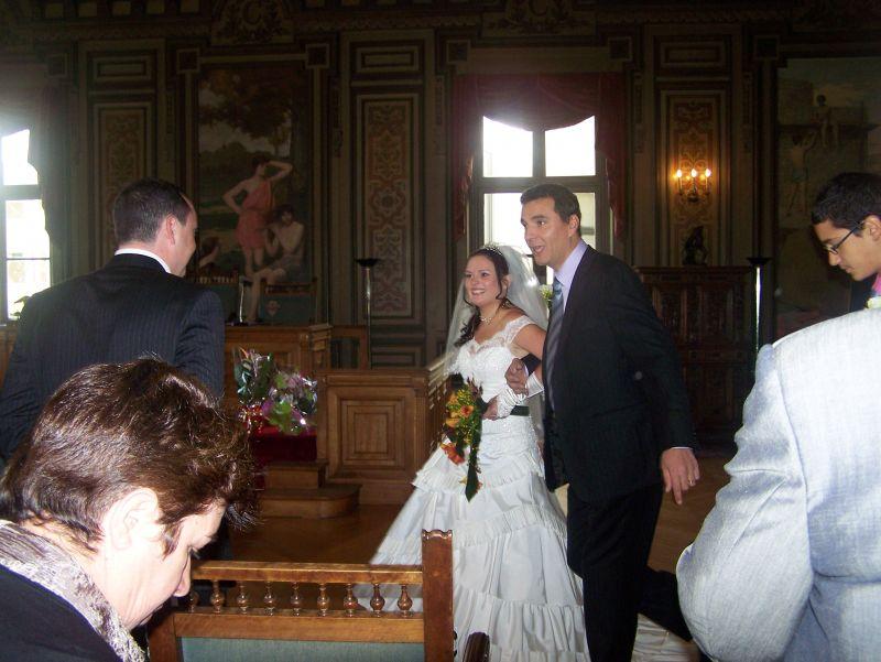 Photo coup de coeur sabrina et cyril mariage le 27 septembre 2008 - Message boulette mariage ...