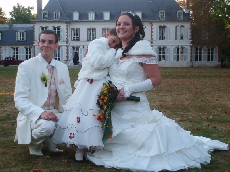 Avec kheira sabrina et cyril mariage le 27 septembre 2008 - Message boulette mariage ...
