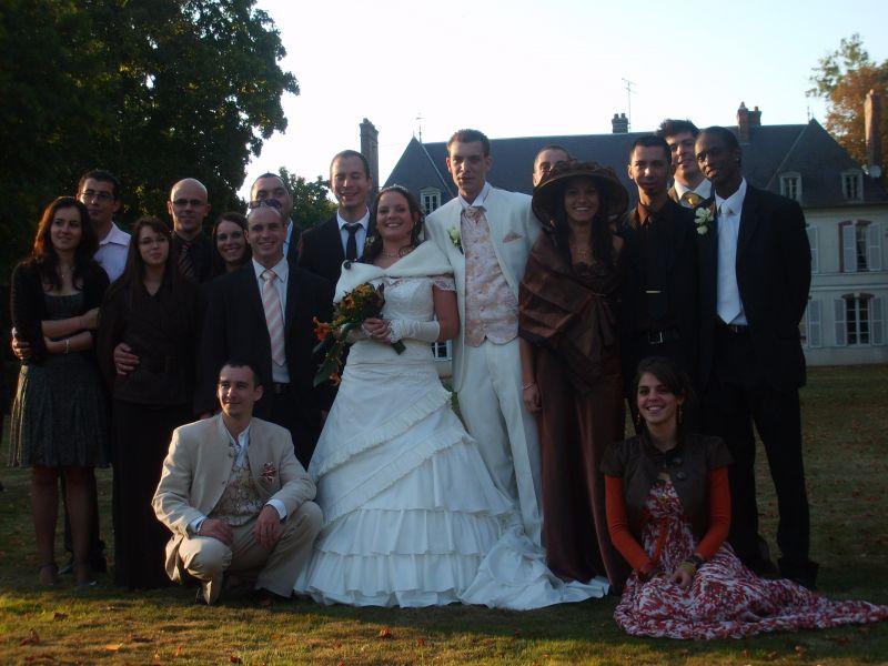 Les ami e s sabrina et cyril mariage le 27 septembre 2008 - Message boulette mariage ...