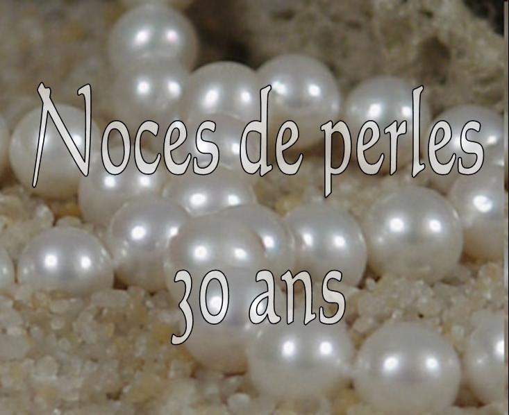 noces de perles pour corinne rmi clotilde et antoine mariage le 30 aot 2008 - 30 Ans De Mariage Noce