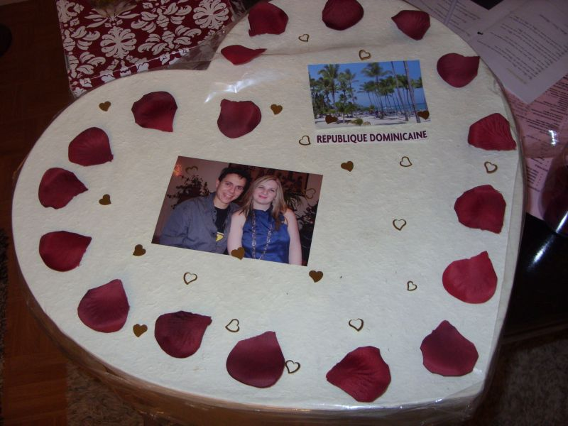 Essaie déco urne , Mélina et Nicolas , Mariage le 9 juin 2012